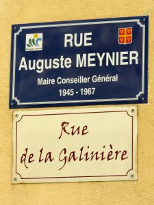 Rue Auguste MEYNIER