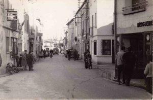 La Grand Rue en 1960