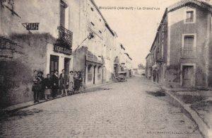 la grand rue en 1910